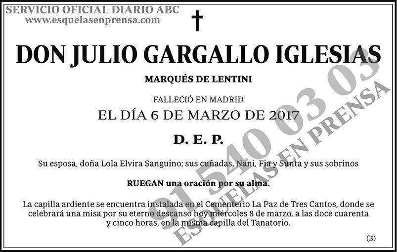 Julio Gargallo Iglesias